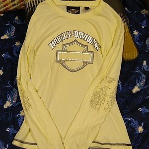 Harley Davidson new without tags long sleeved T